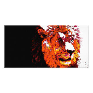 Lion Personalized Photo Card