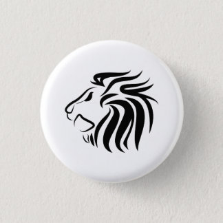 Lion Pictogram Button