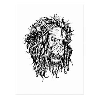 Lion-pirate Postcard