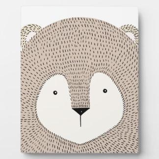 Lion Plaque