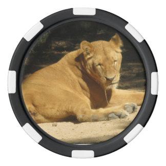 Lion Poker Chip