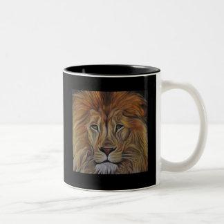 Lion portrait 325 ml  Two-Tone Mug
