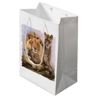Lion pride medium gift bag