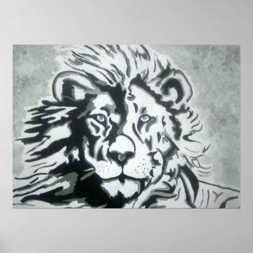 Lion Print