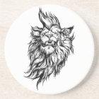 Lion-punk Coaster