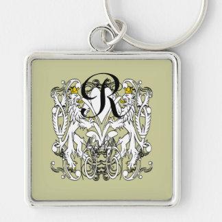 Lion Rampant Renaissance Wedding Keychain