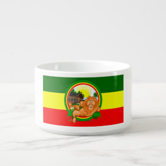 Lion rasta chili bowl