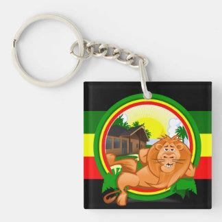 Lion rasta keychain