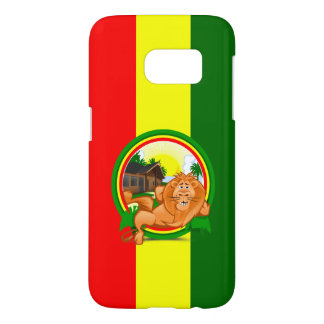 Lion rasta samsung galaxy s7 case