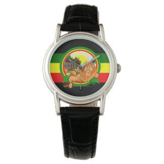 Lion rasta watch