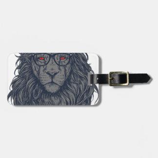 Lion redeye luggage tag