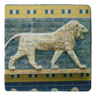 Lion representing Ishtar Trivet