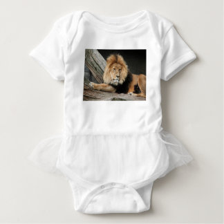 Lion Resting Baby Bodysuit