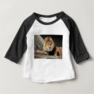 Lion Resting Baby T-Shirt