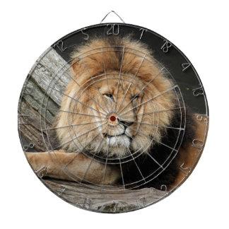 Lion Resting Dartboard
