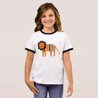 Lion Ringer T-Shirt