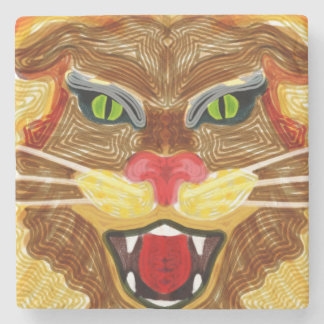 Lion Roar Stone Coaster