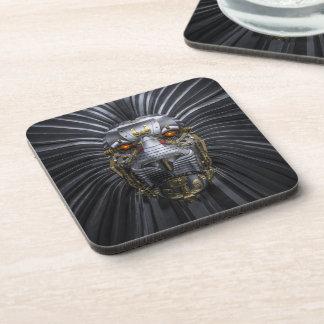 Lion Robot Coasters (set of 6)