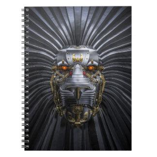 Lion Robot Notebook