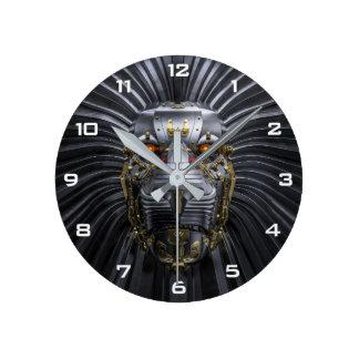 Lion Robot Wall Clock
