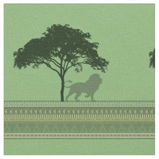Lion Savannah Fabric