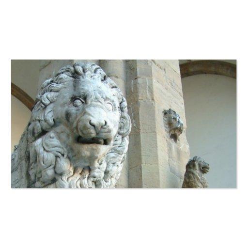 Lion Sculpture Lawyer/Attorney Business Card