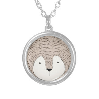 Lion Silver Plated Necklace