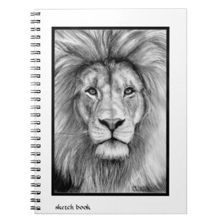Lion sketch book