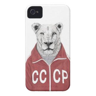 Lion soviétique coque iPhone 4
