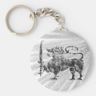 Lion Sri Lanka pencil sketch key-chain Keychain