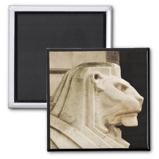 Lion statue in Nottingham Square Magnet