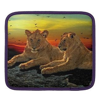 Lion Style iPad Sleeve
