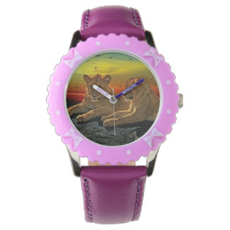 Lion Style Wrist Watches