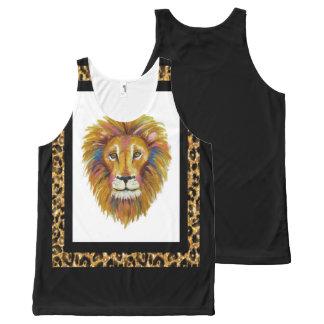 Lion Tank Top Two