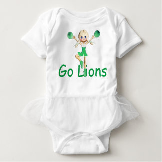 Lion  Team Cheerleader Baby Bodysuit