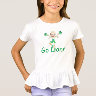 Lion  Team Cheerleader T-Shirt