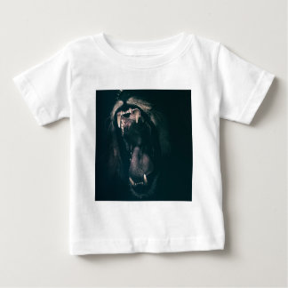 Lion Teeth Roar Fear Angry Roaring Strength Baby T-Shirt