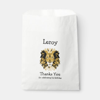 Lion Thank you Favour Bag