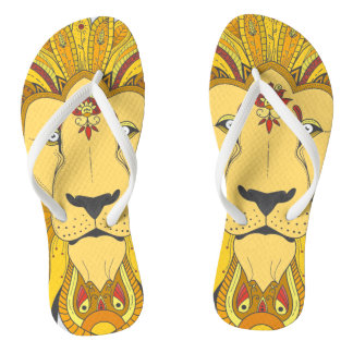 LION THE KING FLIP FLOPS