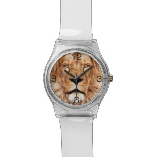 Lion The King Photo Painting Watch