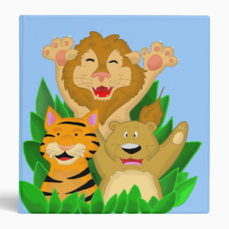 Lion Tiger and Bear Binder