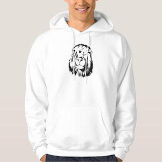 Lion Tribal 002 Hoodie