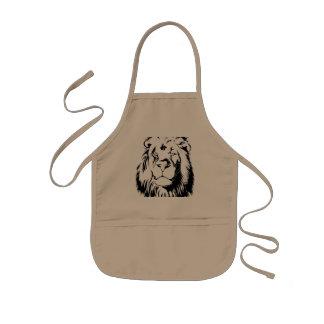 Lion Tribal 002 Kids Apron