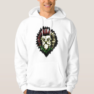 Lion TRIBAL TATTOO Hooded Pullovers