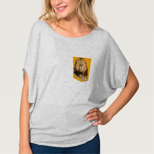lion tshirt pocket design memory of cecil the lion