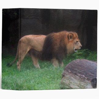 Lion Vinyl Binder