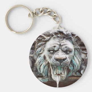 Lion Water Fountain Keychain