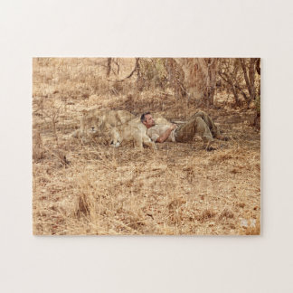 Lion Whisperer Puzzle with Gift Bag