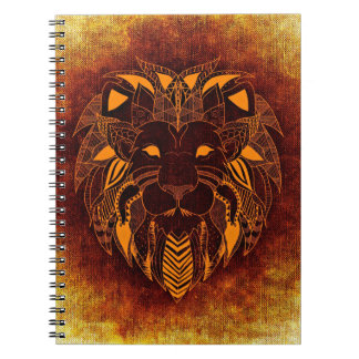 Lion wild animal abstract notebook