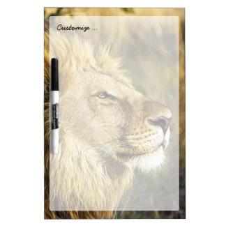 Lion Wild Animal Wildlife Safari Dry-Erase Boards